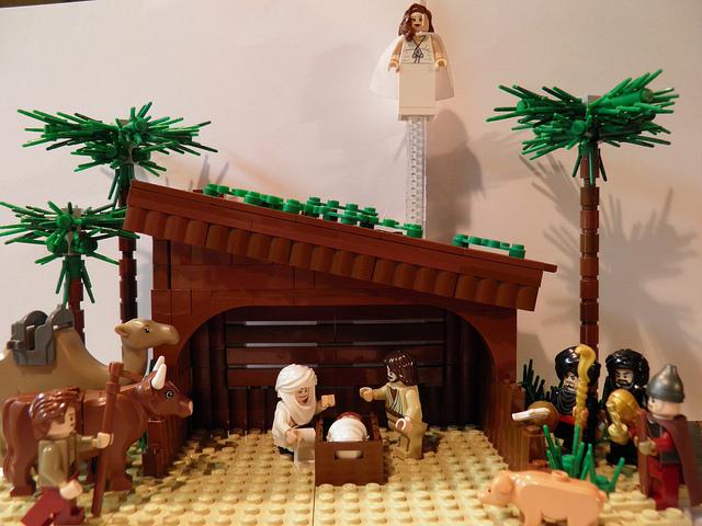 Lego Nativity Scene Ragamuffingospelfan 39 S Blog